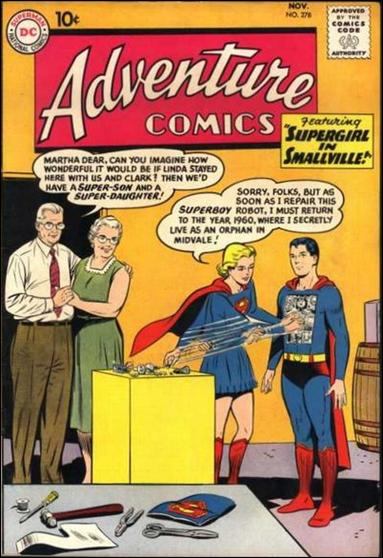 Adventure Comics (1938) 278-A by DC