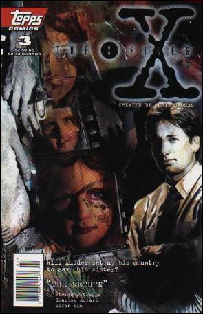 X-Files (1995) 3-A by Topps