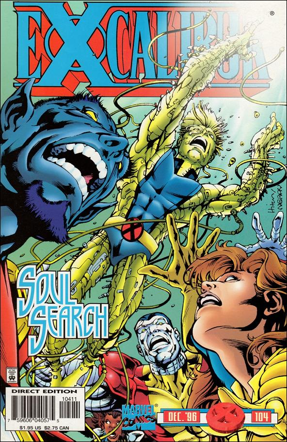Excalibur (1988) 104-A by Marvel