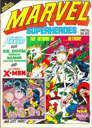 Marvel Superheroes (UK) 356-A