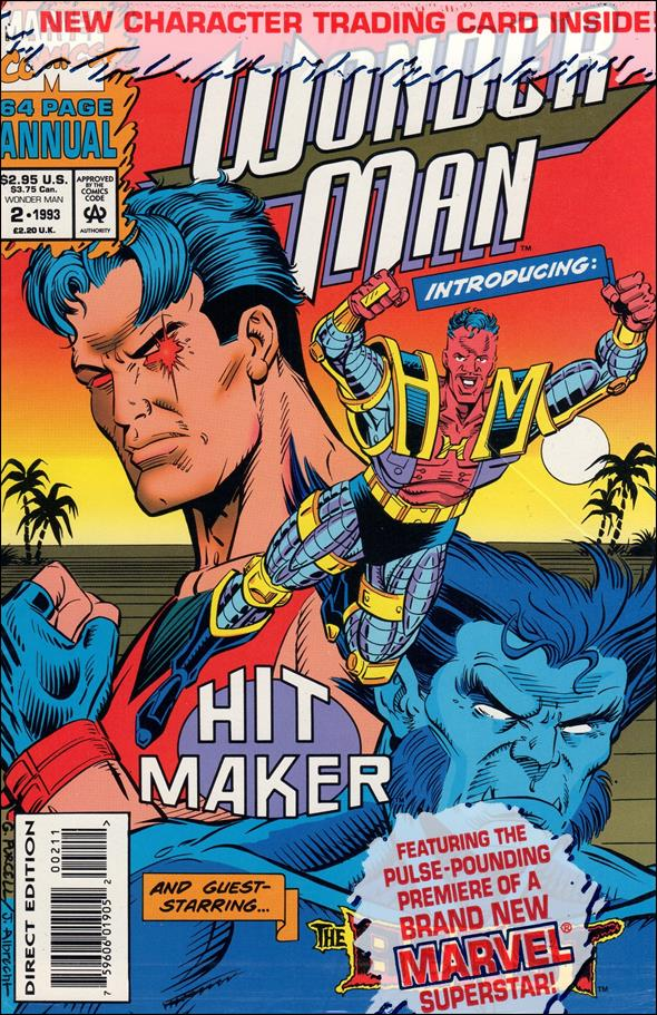 Wonder Man Annual  2-A by Marvel