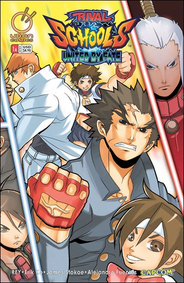 Rival Schools: United by Fate 1-A by Udon