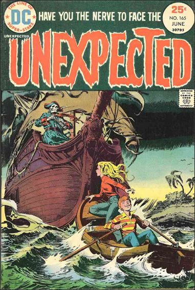 Unexpected (1968) 165-A by DC