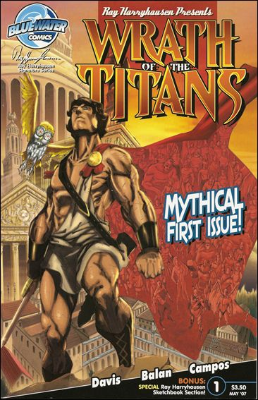 Wrath of the Titans 1-A by Bluewater Comics