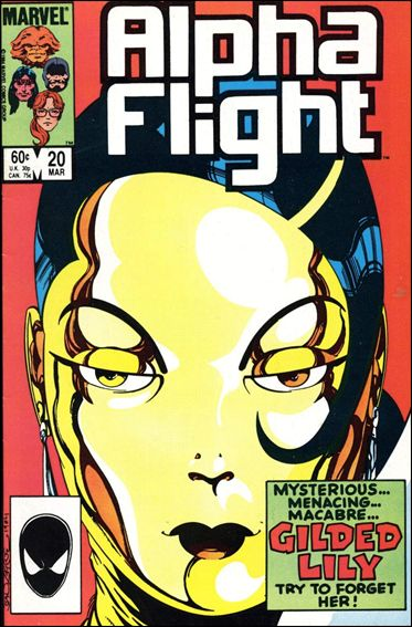Alpha Flight (1983) 20-A by Marvel