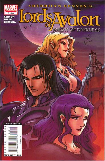 Lords of Avalon: Knight of Darkness 3-A by Marvel
