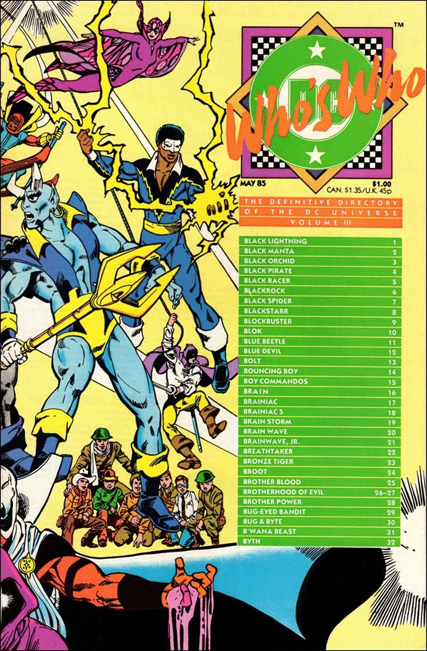 Who's Who: The Definitive Directory of the DC Universe 3-A by DC