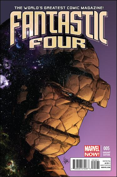 Fantastic Four (2013) 5-B by Marvel