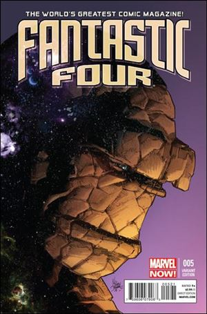 Fantastic Four (2013) 5-B