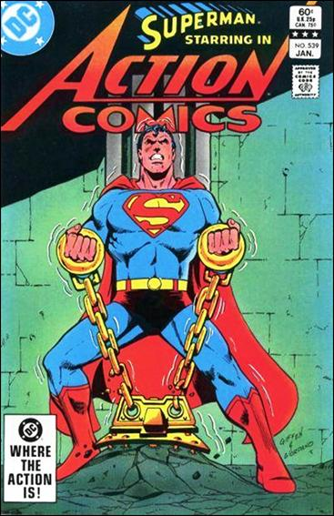 Action Comics (1938) 539-A by DC