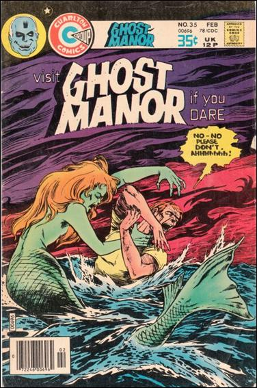 Ghost Manor (1971) 35-A by Charlton