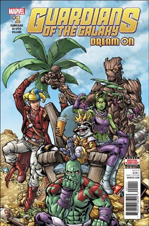 Guardians of the Galaxy: Dream On 1-A