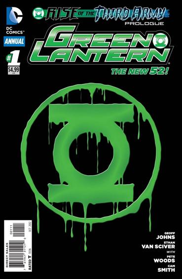 Green Lantern Annual (2012) 1-A by DC