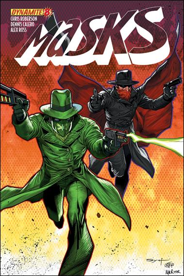 Masks 8-B by Dynamite Entertainment