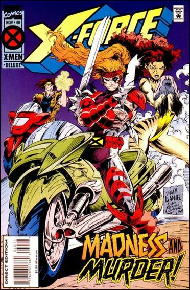 X-Force (1991) 40-A by Marvel