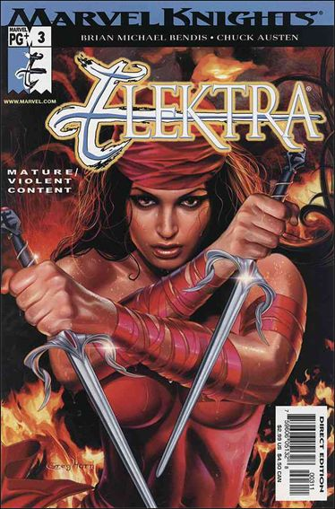 Elektra (2001) 3-B by Marvel