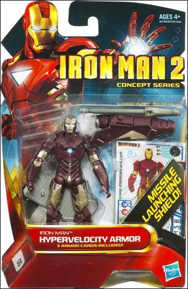 Iron Man 2 Iron Man - Hypervelocity Armor (Concept Series) by Hasbro