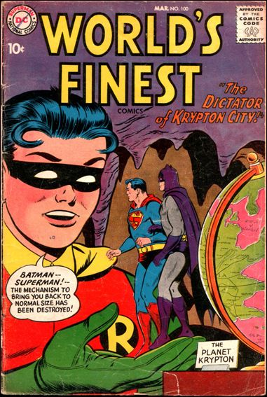 World's Finest Comics 100-A by DC