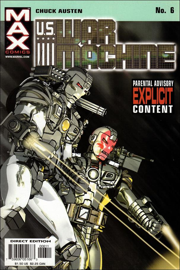 U.S. War Machine 6-A by Max