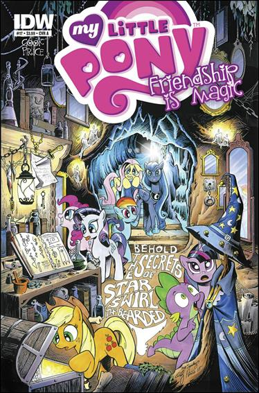 My Little Pony: Friendship is Magic 17-A by IDW