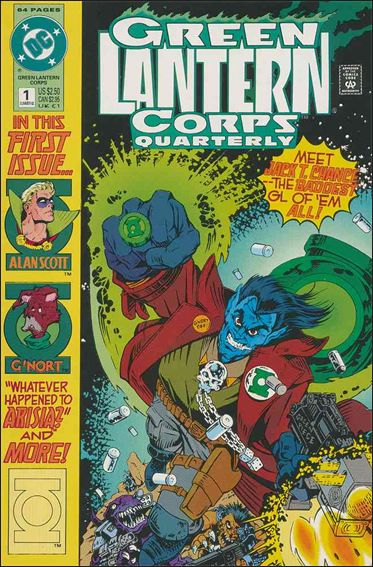 Green Lantern Corps Quarterly 1-A by DC