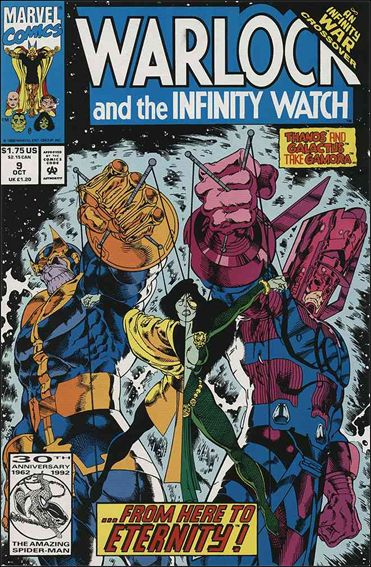 Warlock and the Infinity Watch 9-A by Marvel