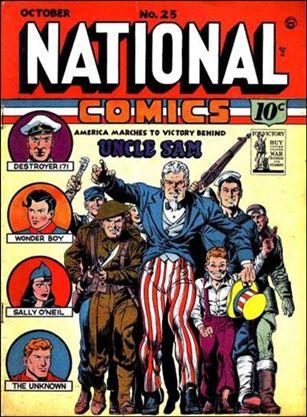 National Comics (1940) 25-A