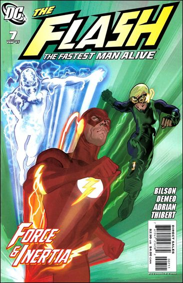 Flash: The Fastest Man Alive 7-A by DC
