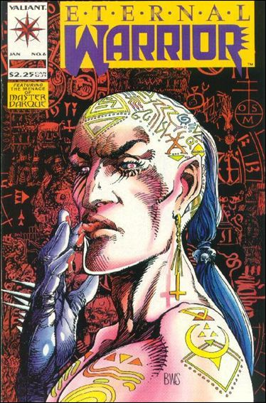 Eternal Warrior (1992) 6-A by Valiant