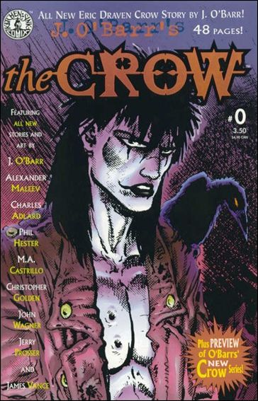 J. O'Barr's The Crow 0-A by Kitchen Sink