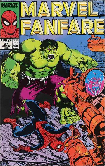 Marvel Fanfare (1982) 47-A by Marvel