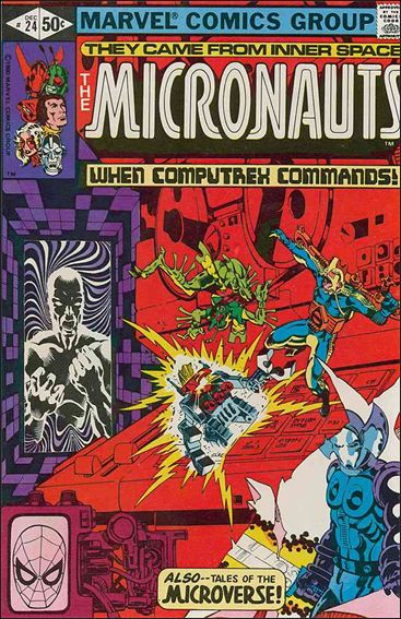 Micronauts (1979) 24-A by Marvel