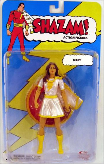 Shazam! (Series 1) Mary Marvel (White Costume) by DC Direct