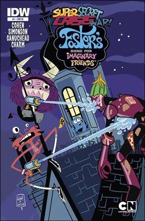 Super Secret Crisis War! Foster's Home for Imaginary Friends 1-C