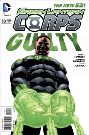 Green Lantern Corps (2011) 10-A