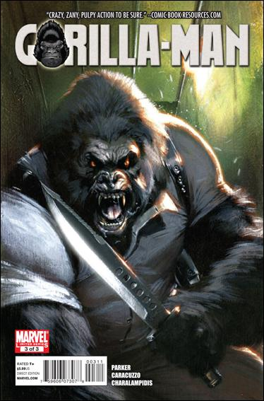 Gorilla-Man 3-A by Marvel