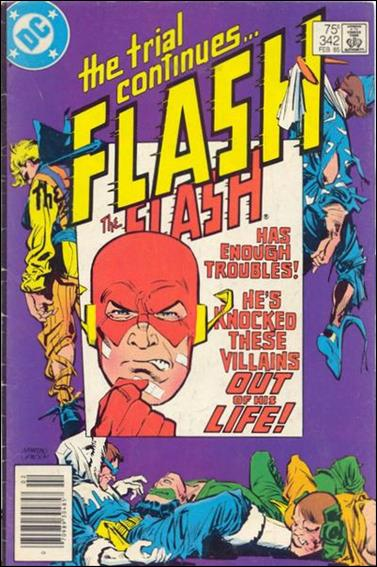 Flash (1959) 342-A by DC