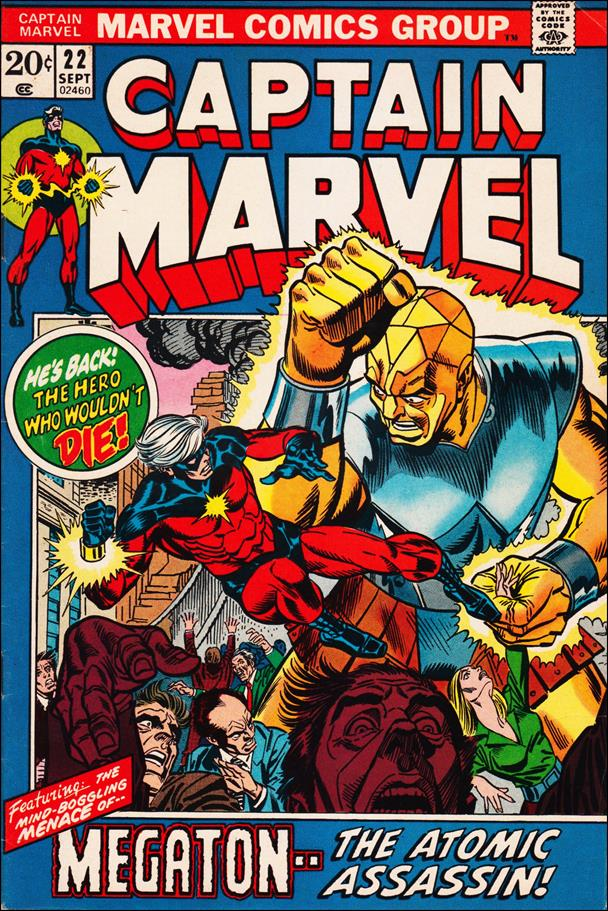 Captain Marvel (1968) 22-A by Marvel