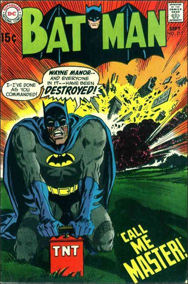 Batman (1940) 215-A by DC