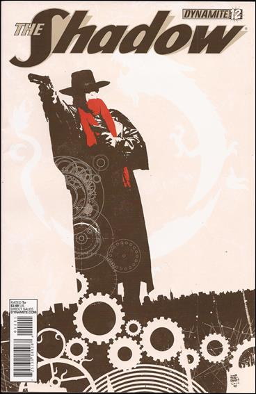 Shadow (2012) 12-B by Dynamite Entertainment