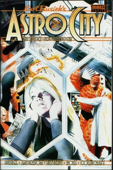 Kurt Busiek's Astro City (1996) 2-A by Homage Comics