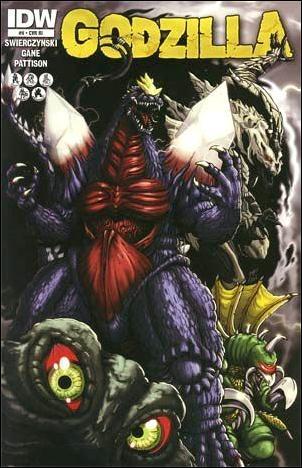 Godzilla (2012) 9-B by IDW