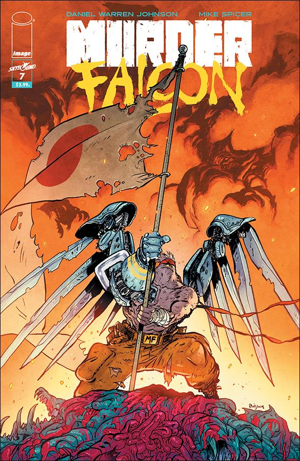 Murder Falcon 7-A by Skybound Entertainment
