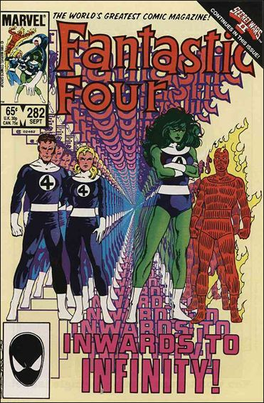 Fantastic Four (1961) 282-A by Marvel