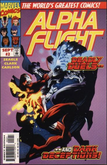 Alpha Flight (1997) 2-B by Marvel