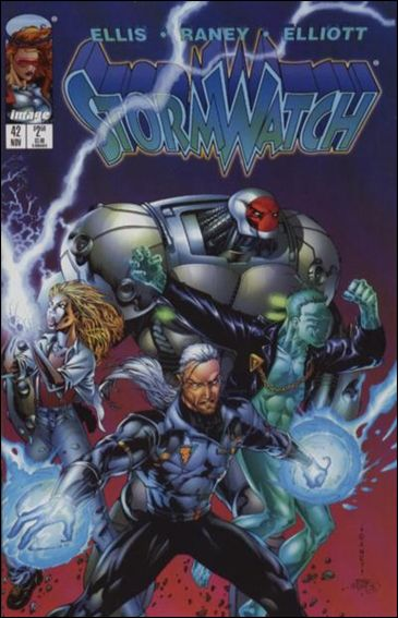 StormWatch (1993) 42-A by Image