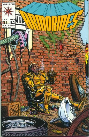 Armorines (1993) 4-A by Valiant