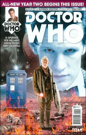 Doctor Who: The Eleventh Doctor Year Two 1-B