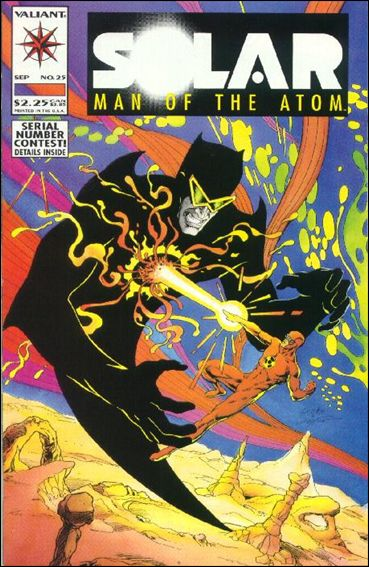 Solar, Man of the Atom (1991) 25-A by Valiant