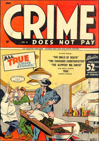 Crime Does not Pay 41-A by Lev Gleason Productions